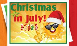 Link to Kymer's Christmas in July event