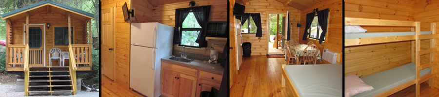 (Inside Our DELUXE Cabin Rentals)