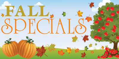Fall Specials Image