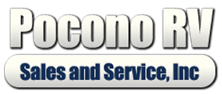 Graphic of the Pocono RV logo